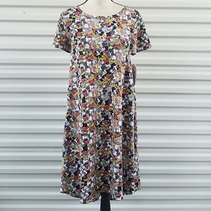 Lularoe Disney Carly dress size Xs